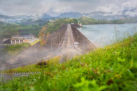 thani: Ratchaprapha Dam Surat Thani provinceThailand