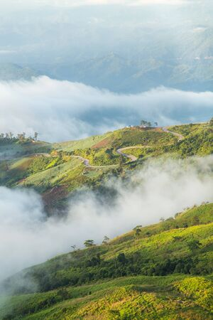 tab: Phu Tab Berk hill, Phetchabun province, Thailand.