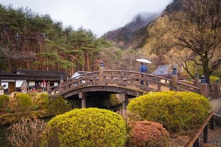 日本の日光江戸村