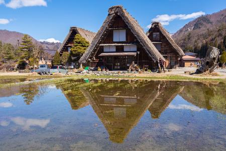 shirakawago: Traditional and Historical Japanese village Shirakawago at Japan Editorial