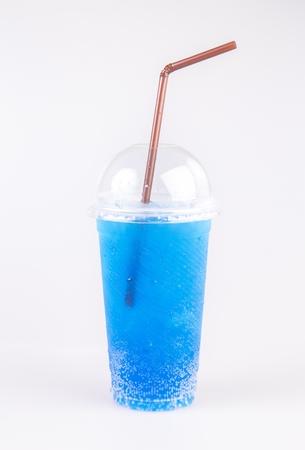talian: talian soda isolated on white background