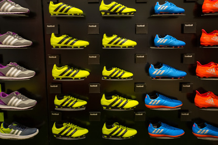 adidas: Adidas Shoes In Shoe Store Display