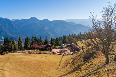 Cingjing boerderij in Cingjing Cingjing boerderij is uitgegroeid tot de meest aantrekkelijke toeristische punt in Taiwan.