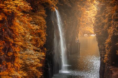 Takachiho gorge in Miyazaki, Japan Stockfoto