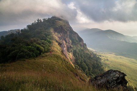 Doi Mon Jong the beautiful mountain at Chiang Mai ,Thailand Stockfoto
