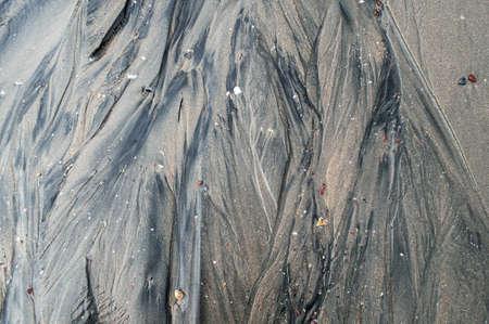 sandbank: Background texture of beach Stock Photo