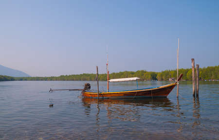 long tailed boat: Thailands long tailed boat