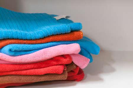 Colorful Towels Cutout