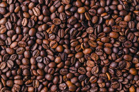 Pile of roasted coffee beans 版權商用圖片