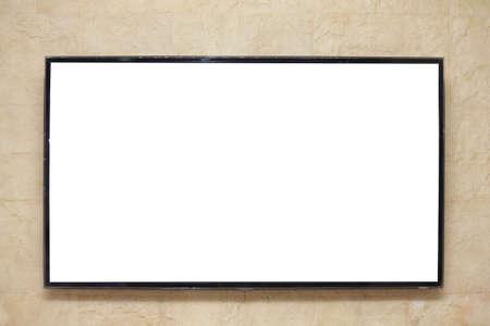 Plasma TVs on the wall Stock Photo - 15658218