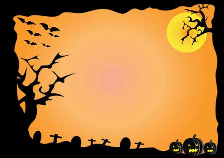 sepulcher: Halloween Illustration