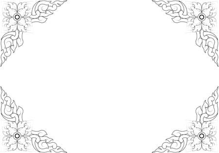 Thai basic ornament can be apply for tattoo ,pattern or background Stock Vector - 15770628