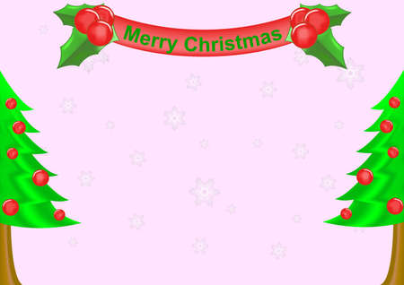 colorful christmas background ,  christmas tree . Stock Vector - 16515699