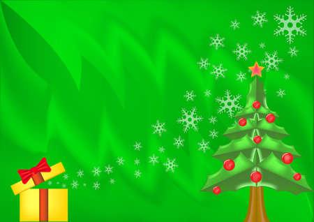 colorful christmas background ,  gift box   Stock Photo