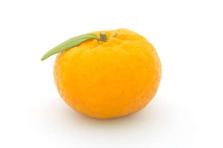 Orange fruit isolated on white background Stock Photo - 16956415