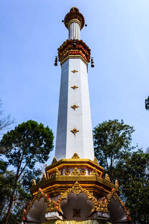 Relics in the south. Surat Thani Province, Thailand.  Stock Photo