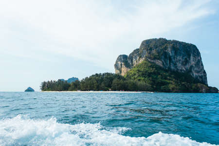 view of andaman sea in Thailand (sae & island)