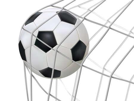 red: F�tbol golpe� la red