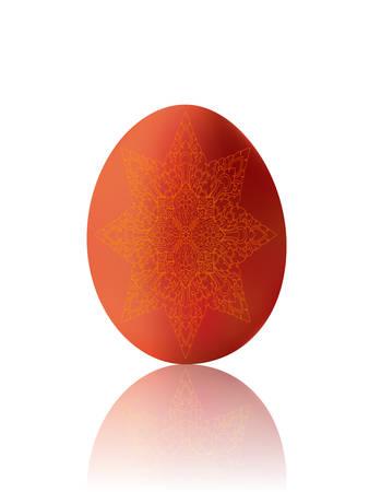 ester: Ester egg with the Thai pattern (Illustration)