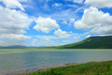 veiw: Veiw of Lam ta kong Lake, Thailand