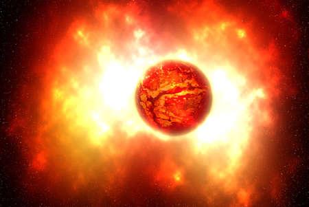 supernova: The death of a star. ( supernova)