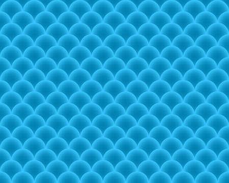 escamas de peces: escamas de pescado sin patrón - vector de textura abstracta en color azul. Vectores