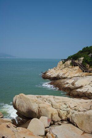 seacoast: a sunny day at seacoast with rocks