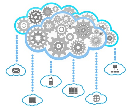 cloud computing services: Network communication