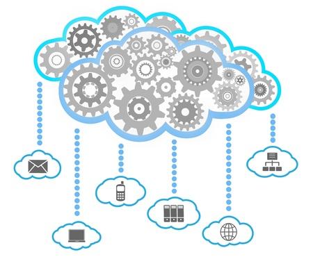 infraestructura: Red de comunicación Vectores