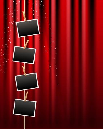 curtain theater: Album de fondo