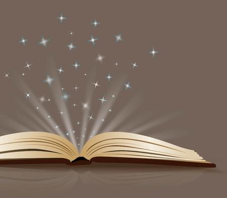 magic book: Book