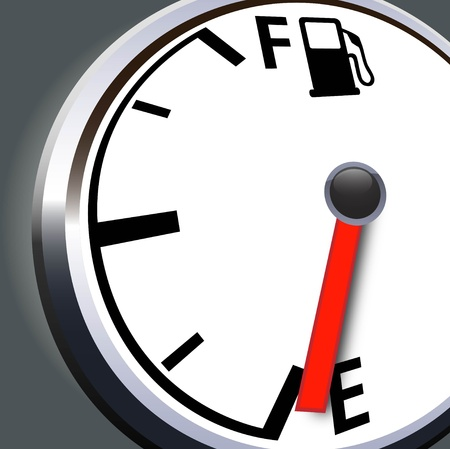 tanque de combustible: Combustible signo
