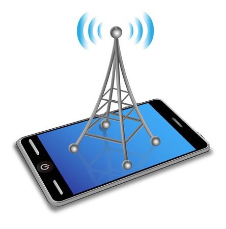 Smart phone Stock Vector - 12836914