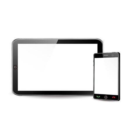 Tablet pc Stock Vector - 12836912