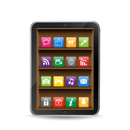 compartments: Tablet pc