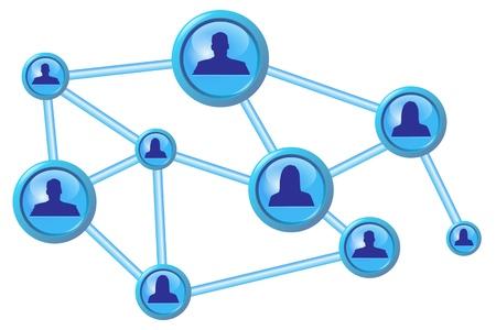 link work: Social media