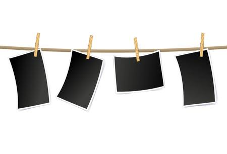 hanging films illustration