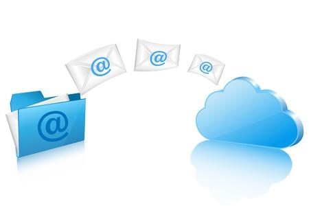 sending files Illustration