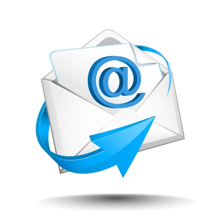 web address: mail Illustration