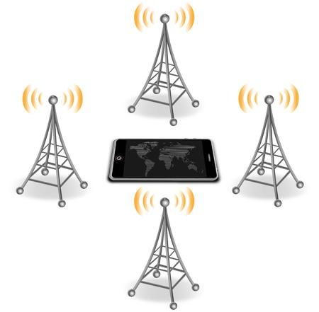antenna Stock Vector - 15780969