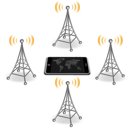 wireless tower: antenna