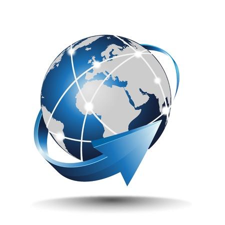global networking: la creaci�n de redes Vectores