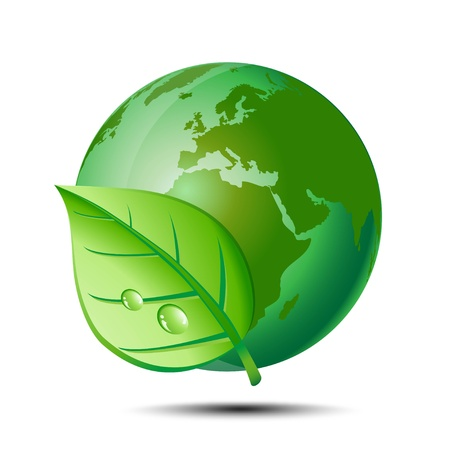 mother nature protection Vector