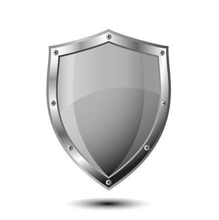 Schild Illustration für den Schutz Vektorgrafik