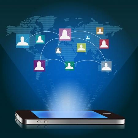 Smart phone Stock Vector - 17120954