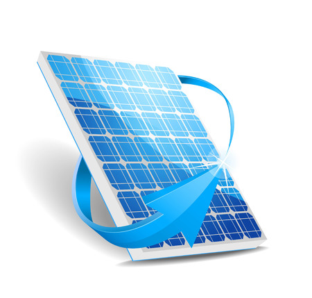 solar panel roof: This image was made by Adobe Illustrator 10