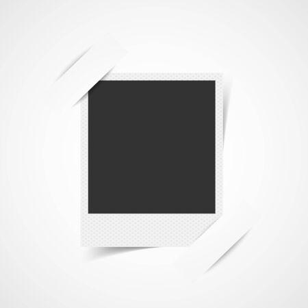 Blank photo frame corner  イラスト・ベクター素材