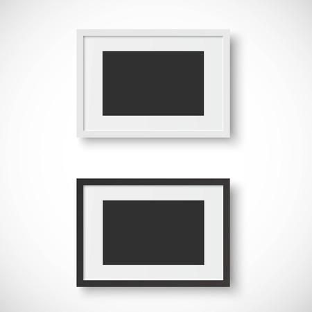 Cadres sur fond blanc Banque d'images - 48242817