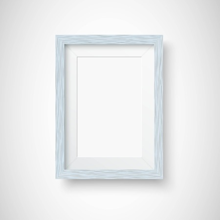 Wooden picture frame Illustration