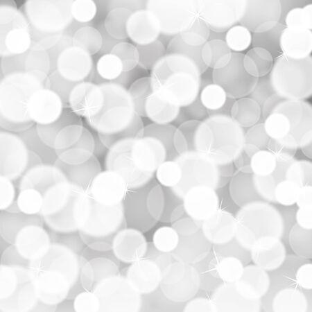 silver white: Silver white glitter lights background Illustration